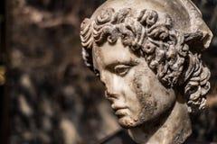 París, amante de Helen de Troy Statue Imagen de archivo libre de regalías