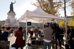 París ataque terrorista noviembre de 2015 Fotografía de archivo