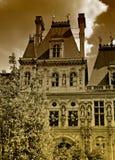 París - ayuntamiento imagen de archivo