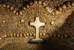 París Catacombes II imagenes de archivo