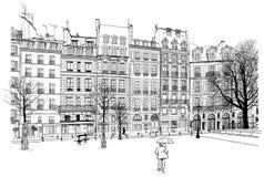 París - coloque Dauphine libre illustration