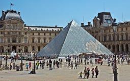 París - cuadrado del Louvre Fotografía de archivo libre de regalías