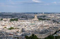 París de arriba foto de archivo