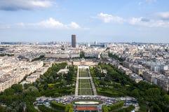 París de arriba fotografía de archivo libre de regalías