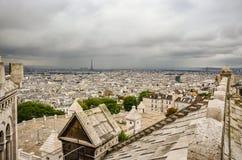 París de desatención en un día nublado Foto de archivo