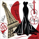 París de moda Imagen de archivo libre de regalías