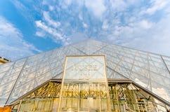 París - 18 de septiembre de 2012: Museo del Louvre encendido Imágenes de archivo libres de regalías