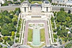 París desde arriba. Fotos de archivo libres de regalías