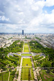 París desde arriba. Imagenes de archivo