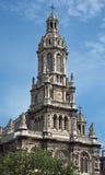 París - Eglise de la Sainte-Trinite Foto de archivo