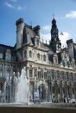 París - el ayuntamiento fotos de archivo