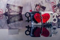 París en amor Foto de archivo libre de regalías
