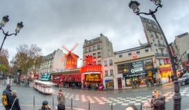 París en invierno Imagen de archivo libre de regalías