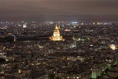 París en la noche Imagen de archivo