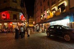París en la noche Fotografía de archivo