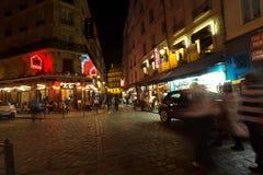París en la noche Fotos de archivo