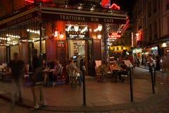 París en la noche Imagen de archivo libre de regalías