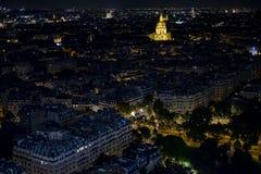 París en la noche 1 Fotos de archivo libres de regalías