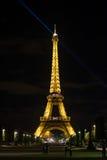 París en la noche 2 Foto de archivo libre de regalías