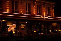 París en la noche 5 Imagen de archivo