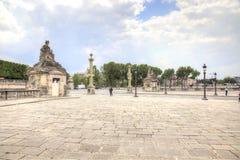 parís En la plaza de la Concordia El centro de ciudad histórico Fotografía de archivo libre de regalías