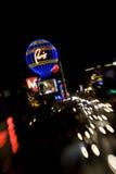 París en la tira de Vegas Fotografía de archivo