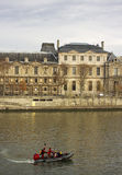 París en un rato del otoño Foto de archivo libre de regalías