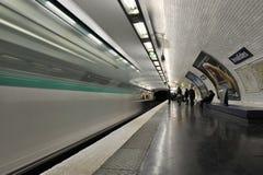 París, estación de metro Invalides Fotografía de archivo