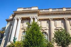 PARÍS - FRANCIA - 30 DE AGOSTO DE 2015: Palacio grande magnífico famoso de Palais en París Fotografía de archivo