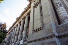 PARÍS - FRANCIA - 30 DE AGOSTO DE 2015: Palacio grande magnífico famoso de Palais en París Fotos de archivo libres de regalías