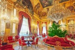 PARÍS, FRANCIA - 3 DE JULIO DE 2016: Apartamentos de Napoleon III lou Imagen de archivo