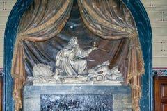 PARÍS, FRANCIA, EL 25 DE ABRIL DE 2016 Iglesia de DES Pres de St Germain Fotos de archivo libres de regalías