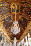 París, Francia, el 28 de marzo de 2017: Pasillo del ` s del espejo del castillo francés de Versalles francia Fotos de archivo
