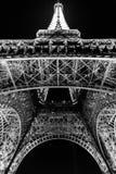 París, Francia, el 28 de marzo de 2017: Torre Eiffel en París por noche Fotos de archivo