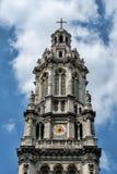 PARÍS, FRANCIA: La iglesia de la trinidad santa es una iglesia católica Foto de archivo libre de regalías