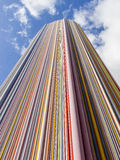 PARÍS, FRANCIA - OCTUBRE DE 2012: Columna de Moretti en la defensa del La Fotos de archivo