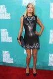 París Hilton en la película 2012 de MTV concede las llegadas, anfiteatro de Gibson, ciudad universal, CA 06-03-12 Imagenes de archivo
