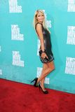 París Hilton en la película 2012 de MTV concede las llegadas, anfiteatro de Gibson, ciudad universal, CA 06-03-12 Foto de archivo libre de regalías