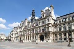 París: Hotel de Ville Imagenes de archivo