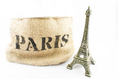 París Mini Eiffel Tower Fotografía de archivo
