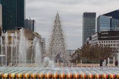 parís Navidad Foto de archivo