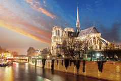París - Notre Dame imagen de archivo