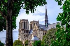 París Notre Dame 4 Imagenes de archivo