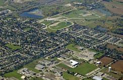 París Ontario, aéreo Imágenes de archivo libres de regalías