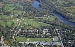 París Ontario, aéreo Foto de archivo libre de regalías