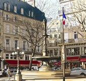 París - Palais Royal libre illustration