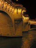 París, puente de Pont Neuf Fotos de archivo libres de regalías