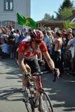 París Roubaix 2011 - Tomas Vaitkus Imagen de archivo libre de regalías