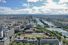 París TiltShift Imagenes de archivo