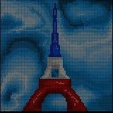 París - torre Eiffel - stock de ilustración